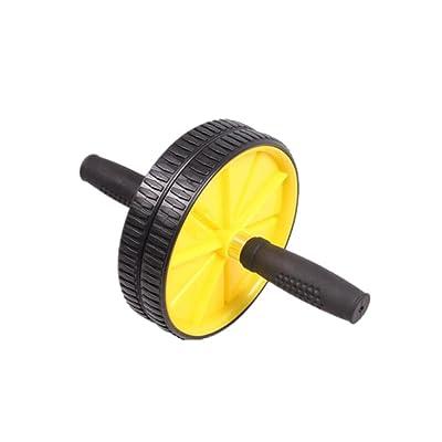 HHORD Équipement de conditionnement physique unisexe Deux-roues à rouleaux motorisé Thin taille Wheel Gym Accueil utilisation