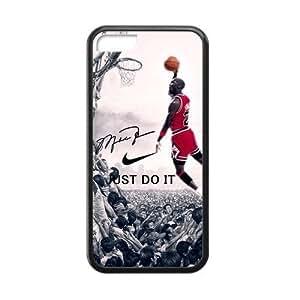 Hipster NBA Chicago Bulls Michael Jordan Apple Iphone 5C Case Cover TPU Laser Technology NIKE JUST DO IT Dunk WANGJING JINDA