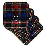 3dRose CST_219246_1 Scottish Macbeth Tartan Pattern