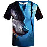 Best Thomas & Friends Friend Shirts Long Sleeves - Piiuiy Yuik Mens Forest Animal Tiger Short Sleeve Review