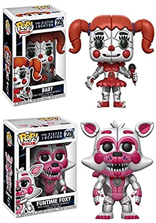 Sister LocationBabyFuntime Funko At Freddy's PopFive Nights 8O0ZnwPNkX