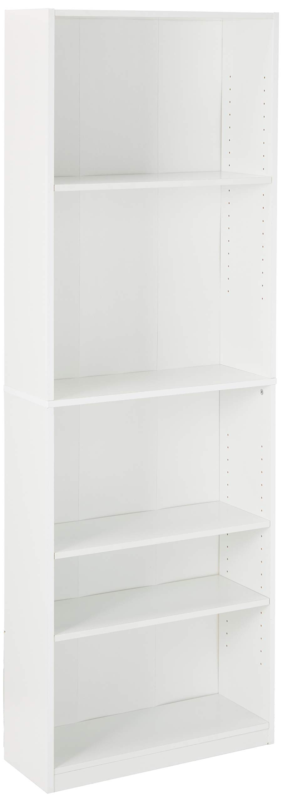 Furinno Jaya Simple Home 5-Shelf Bookcase, White by Furinno