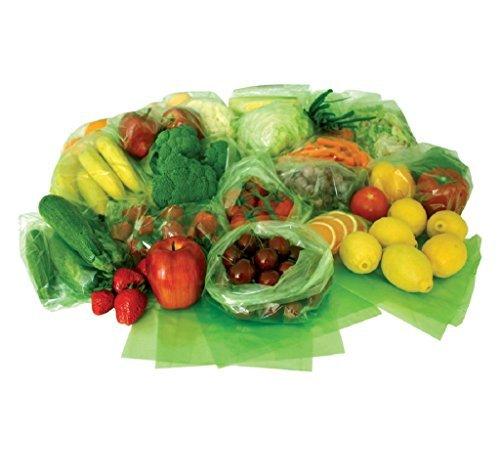 Debbie Meyer GreenBags Freshness-Preserving Food/Flower Storage Bags (Various Sizes, 80-Pack)