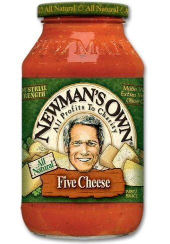 Newman's Own Five Cheese Pasta Sauce 26 oz (4 pack)