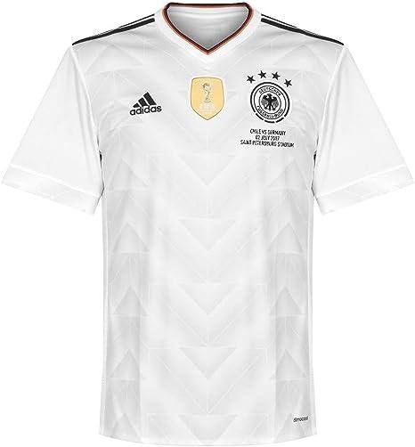 Alemania Casa camisa de la Copa de Confederaciones 2017 Inc final transferencia, hombre, blanco, XS: Amazon.es: Deportes y aire libre
