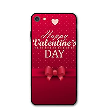 new products d750b 44331 Amazon.com: ORJNMSA iPhone 7/8/8S Happy Valentine's Day Case ...