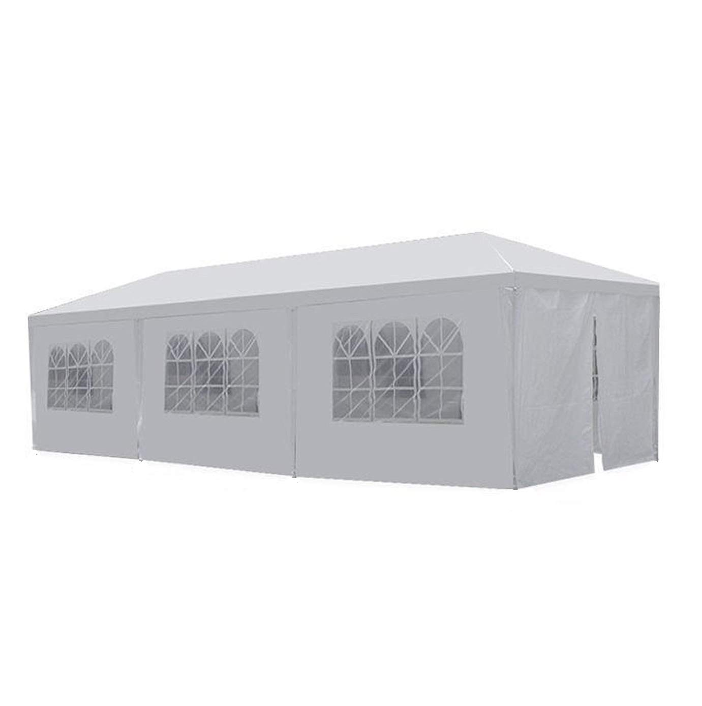 GOJOOASIS Canopy Tent Wedding Party Tent 10' x 30' with 8 Removable Walls Outdoor Gazebo by GOJOOASIS
