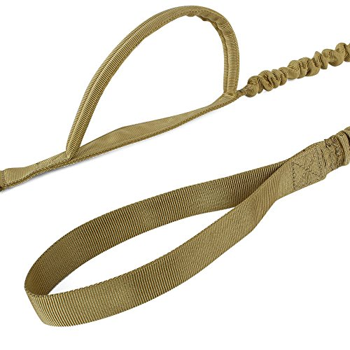 Oyoco Tactical Bungee Dog Leash Heavy Duty Adjustable Military