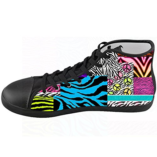 Custom zebra di stampa Kids Canvas shoes Le scarpe le scarpe le scarpe.