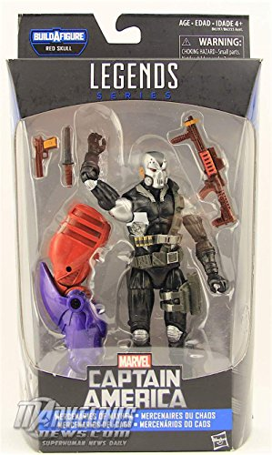 """Marvel Legends 2016 Captain America Red Skull Onslaught - SCOURGE 6"""" Action Figure"""