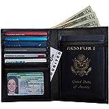 RFID-Blocking Leather Passport Holder & Travel Wallet, Best Document Organizer