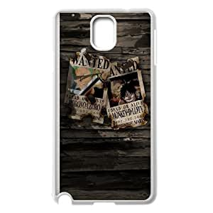 One Piece Wanted Samsung Galaxy Note 3 Cell Phone Case White toy pxf005_5005594