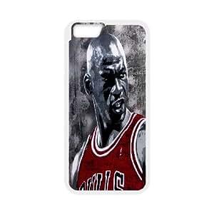 Unique Design -ZE-MIN PHONE CASE For Apple Iphone 6 Plus 5.5 inch screen Cases -Love Basketball,MICHAEL JARDON Pattern 14