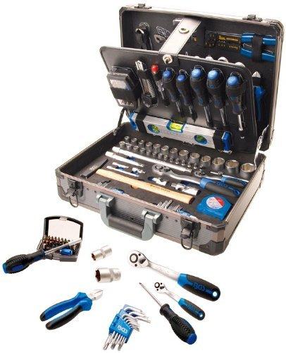 Professional Tool Set in Aluminum Case, 149 pcs. by BGS technic PRO+