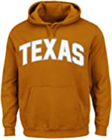 NCAA University of Texas Austin Men's Cheering Them Long Sleeve Pullover Jacket, Orange, X-Large