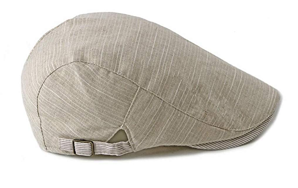 FGSS Mens Cotton Newsboy Flat-Cap Cabbie-Irish Beret-Hat