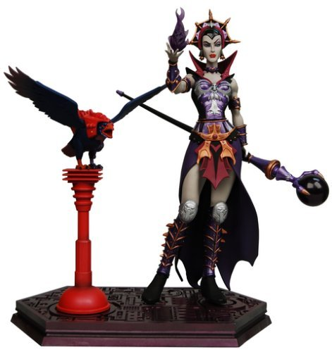 NECA Masters of the Universe Series 5 Evil Lyn Mini Statue
