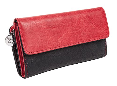sydney-love-two-tone-wallet-black-red