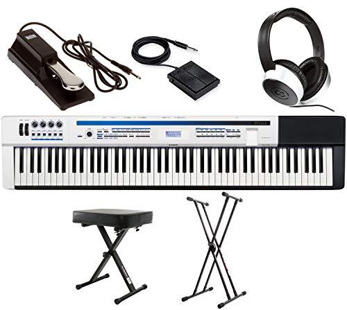 Privia PX-5S Essential Keyboard Bundle