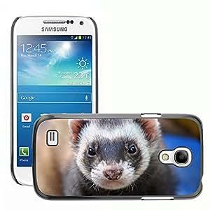 Super Stella Slim PC Hard Case Cover Skin Armor Shell Protection // M00148608 Ferret Animal Eyes Close // Samsung Galaxy S4 Mini i9190