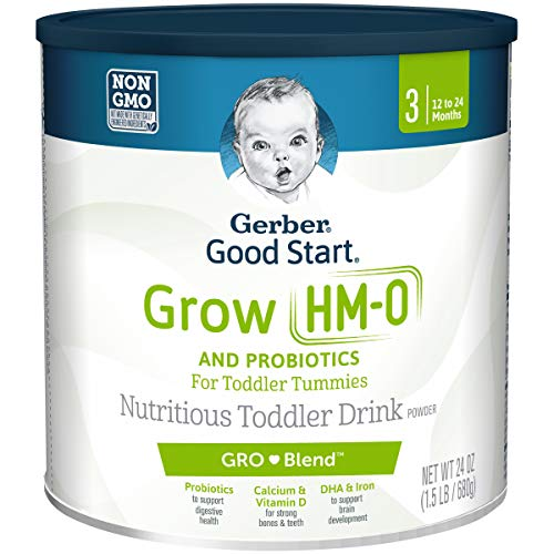 Gerber Good Start Grow Toddler Drink Powder, Stage 3, 24 Ounce (Best Formula Milk For 1 Year Old Baby)