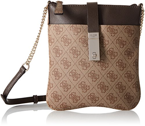 GUESS Nissana Mini Crossbody Top Zip, Coal