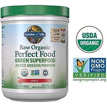 Amazon com: Garden of Life Raw Organic Perfect Food Energizer Juiced