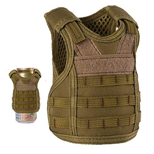 UpAuto Mini Beer Vest Military Bottle Beverage Cooler Holder for ...