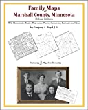 Family Maps of Marshall County, Minnesota, Deluxe Edition : With Homesteads, Roads, Waterways, Towns, Cemeteries, Railroads, and More, Boyd, Gregory A., 1420313762