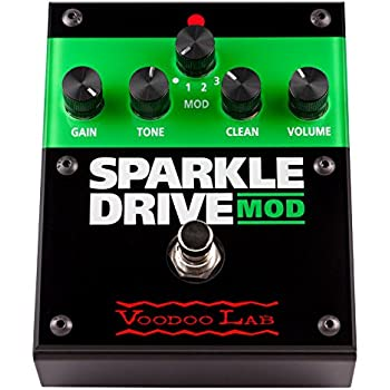 Voodoo Lab Sparkle Drive MOD Overdrive Guitar Pedal