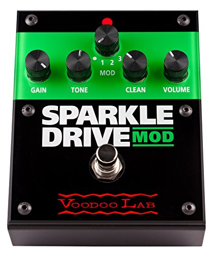 Voodoo Lab Sparkle Drive Guitar Effect Pedal