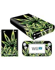 Nintendo Wii U Skin Design Foils Pegatina Set - Cannabis Motivo