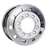 Accuride 24.5'' x 8.25'' Aluminum 10 on 11.25'' Stud Pilot BUDD Wheel (27599SP)