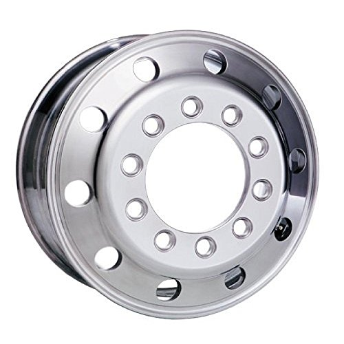 Accuride 24.5'' x 8.25'' Aluminum 10 on 11.25'' Stud Pilot BUDD Wheel (27599SP) by Accuride