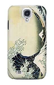 E1040 The Great Wave of Kanagawa Funda Carcasa Case para Samsung Galaxy S4 mini