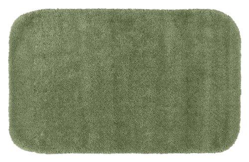 Garland Rug Traditional Plush Washable Nylon Rug, 24-Inch by 40-Inch, Deep Fern ()