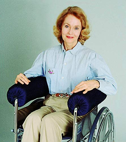 """Wheelchair Stabilizer Armrest Bolster 5"""" and 6"""" Full-Arm or 1/2 arm"""