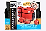 Dog Travel Bag - Week Away Tote for Med and Large