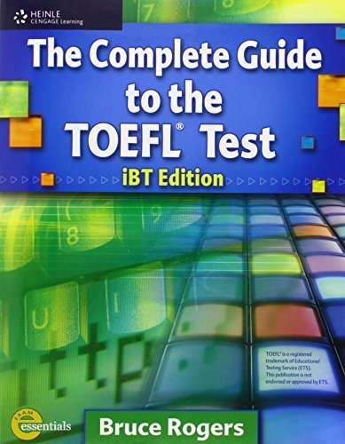 Download The Complete Guide to the TOEFL Test: iBT Edition, Text/CD