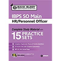 IBPS SO Main HR Personnel Officer Complete Study Material with 15 Practice Sets
