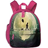 Romantic and Beautiful Artistic Conception Cute Kids Backpack Outdoor
