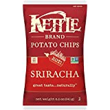 Kettle Brand Potato Chips, Sriracha, 8.5 Ounce