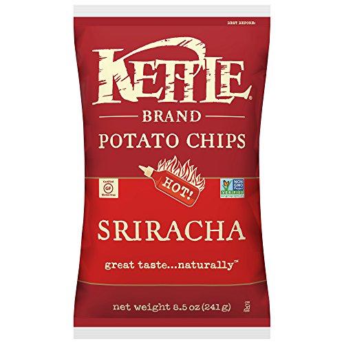 - Kettle Brand Potato Chips, Sriracha, 8.5 Ounce