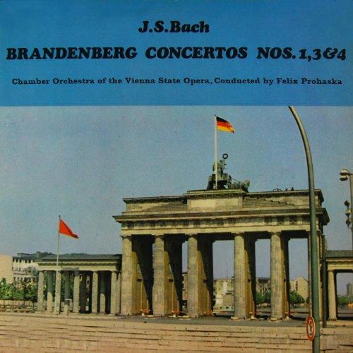 Brandenberg Concertos Nos 1, 3 & 4
