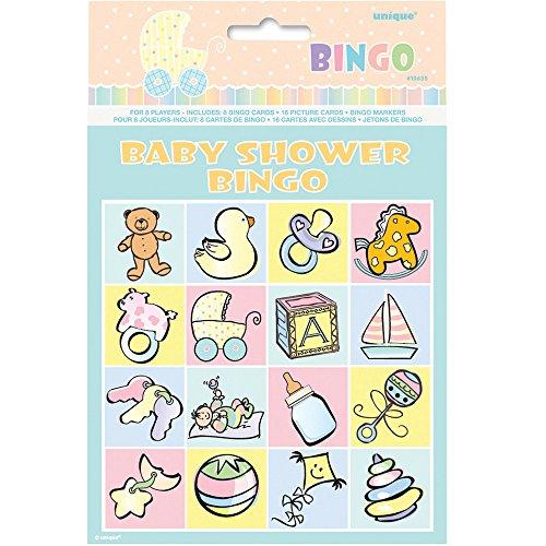 Baby Shower Bingo Game for 8