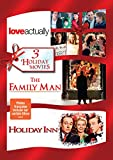 3 Holiday Movies (Love Actually / Family Man / Holiday Inn)dvd