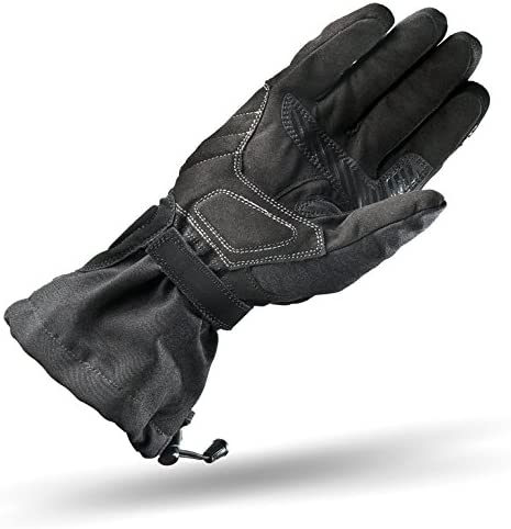 S SHIMA Touring Dry Waterproof Winter Long Leather Motorcycle Gloves