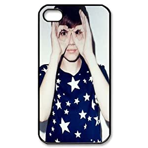 T-TGL(RQ) Personalized Hot Sale durable phone Case for Iphone 4/4S customized Justin Bieber case
