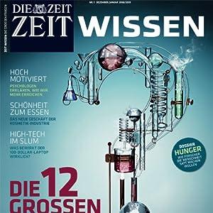ZeitWissen, Dezember 2008 Audiomagazin