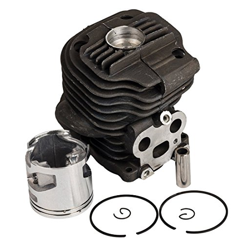 Woniu Cylinder Piston Ring Kits 51mm for Husqvarna K750 K760 Cut Off Saw Replace 506 38 61 71
